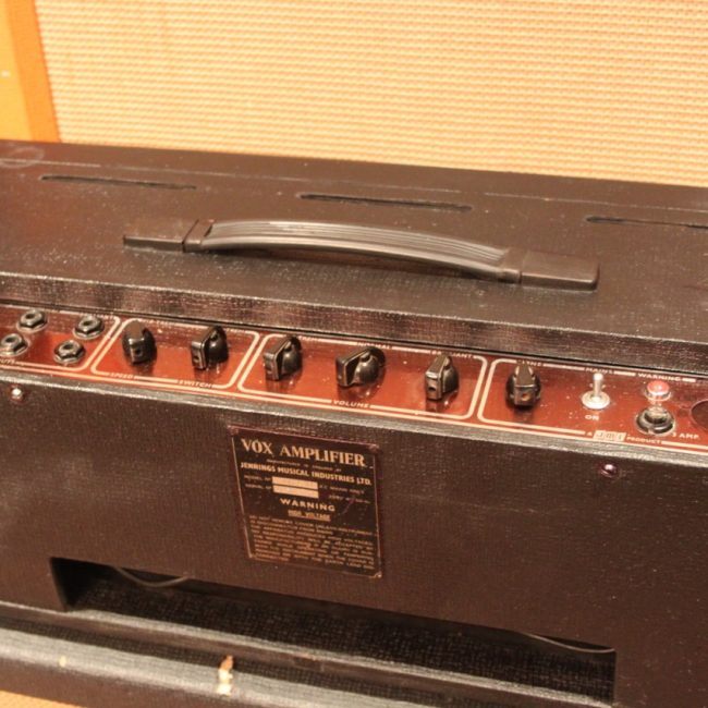 Vintage 1963 Vox AC30 Copper Top Piggyback Valve Amplifier -