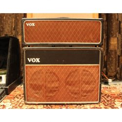 Vintage 1963 Vox AC30 Copper Top Piggyback Valve Amplifier