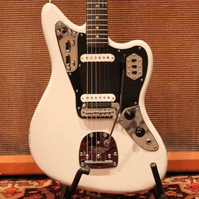 vintage fender jaguar wiring vintage 1962 fender jaguar olympic white pre cbs guitar  vintage 1962 fender jaguar olympic