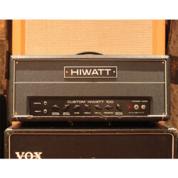 Vintage 1981 Hiwatt DR103 Custom 100 Valve Amplifier Head