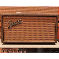 Vintage 1963 Fender Reverb Unit Brown Tolex