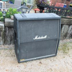 Vintage Marshall JCM800 Bass 1979A 4x15 Angled Cabinet