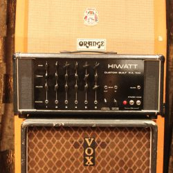 Vintage 1973 Hiwatt DR112 Custom 100 PA Valve Amplifier Head