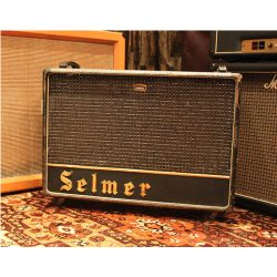 Vintage 1963 Selmer Truvoice Twin Thirty 2x12 Valve Amplifier Combo