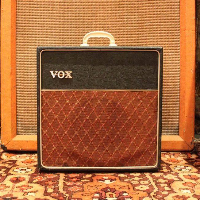1964 Vox AC4 Basketweave Covering 1x8 Elac Valve Amp Amplifier