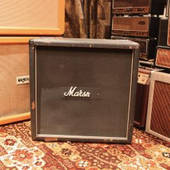 Vintage 1978 Marshall 4x12 Straight 1982B Celestion T1281 Guitar Speaker Cabinet