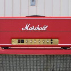 Vintage 1977 Marshall Master Red MK2 Lead 100w JMP Amplifier
