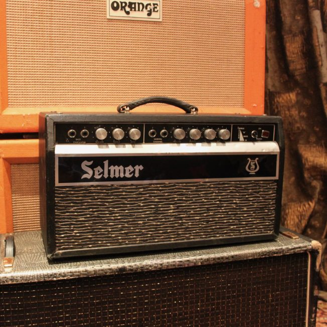 Vintage 1968 Selmer Treble N' Bass 50 Reverb Amplifier