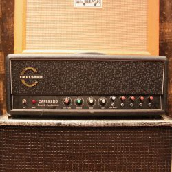 Vintage 1960s Carlsbro 60 PA Reverb Lay Down Valve Amplifier MINT