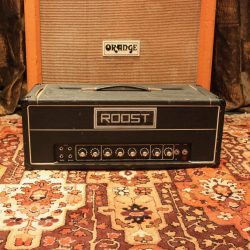 Vintage 1970s Roost SR22 Reverb UK Built Valve Amplifier Head