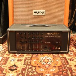 Vintage 1973 Hiwatt DR112 PA 100 Custom Valve Amplifier Head