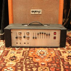 1970s Simms Watts GE 100 Valve Amplifier Head