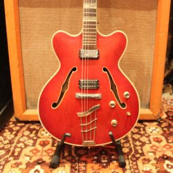 Vintage-1965-Hofner-Verithin-4574-Cherry-Guitar