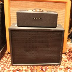 1963 JMI Vox Domino Bass Amp Piggy-Back Head Cab SERVICED