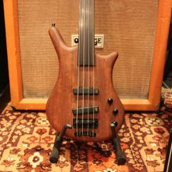 2008 Warwick German Thumb Fretless Bolt-On BO 4 Electric Bass Guitar.