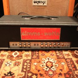 Vintage 1970s Simms Watts AP100 100w PA Valve Amplifier Head