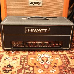 Vintage 1974 Hiwatt DR103 Custom 100 Valve Amplifier Head