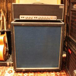 1970s Simms Watts AP100 Amplifier Head & 4x12 Cab