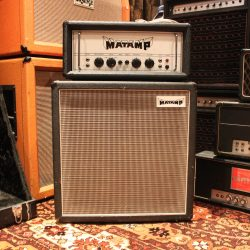 Vintage 1972 Matamp Head & 1 x 15 Cabinet GT100 Amp