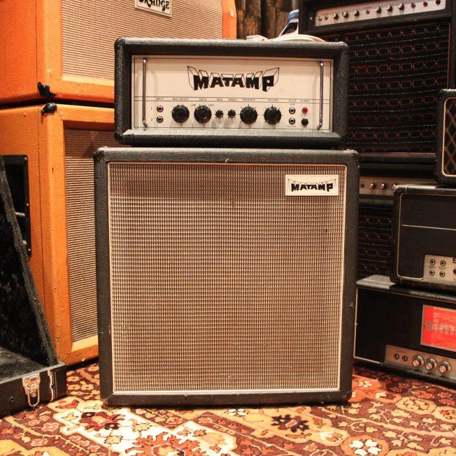 Vintage 1972 Matamp Head & 1 x 15 Cabinet GT100 Amp
