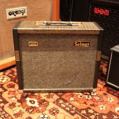Vintage 1964 Selmer Truvoice Mercury 5 Amplifier Original Cover