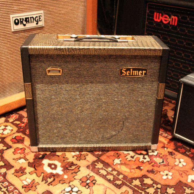 Vintage 1964 Selmer Truvoice Mercury 5 Amplifier Original Cover