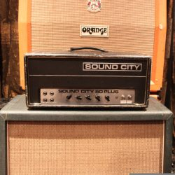 Vintage 1970 Sound City 50 Plus Lead Valve Amplifier