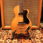Vintage 1959 Hofner Club 50 Natural Blonde Selmer London Guitar