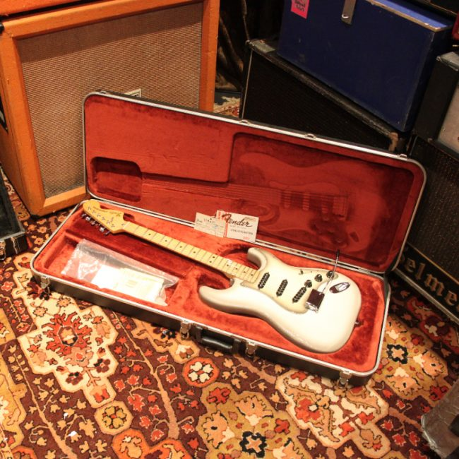 Vintage 1979 Fender Stratocaster Antigua Maple Electric Guitar inc Case