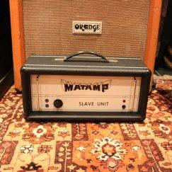 Vintage 1970's Matamp Head SL100 Amp