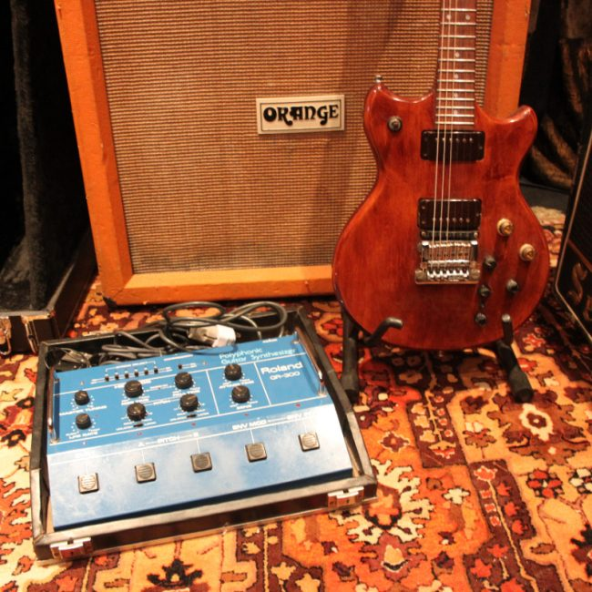 Vintage 1980s Roland G303 GR300 Analog Synthesizer Electric Guitar