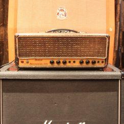 Vintage 1963 Selmer Bassmaster 50 Croc Skin Amp MINT