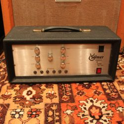 Vintage 1973 Selmer Treble 'N Bass Fifty 50 SV Valve Amplifier Head SERVICED