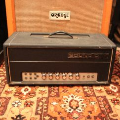 Vintage 1972 Sound City 120 Mark 4 Custom Built Valve Amplifier SERVICED