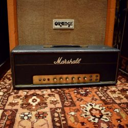 Vintage 1970 Marshall JMP 50 Plexi Crossover Valve Amplifier Head