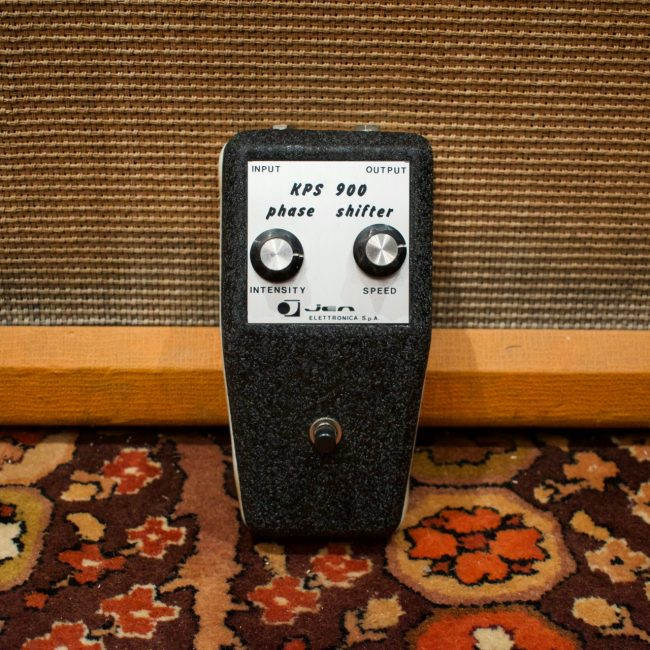 Vintage 1970s Jen KPS900 Phase Shifter Guitar Phaser Effects Pedal