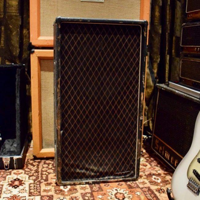Vintage 1965 Vox JMI AC100 T100 2x15 Cabinet