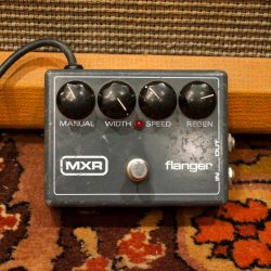 Vintage 1970s MXR Flanger Analogue Model 117 Guitar Effects Pedal