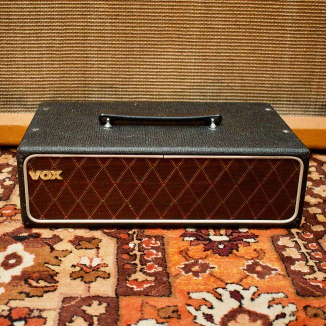 Vintage 1964 Vox T60 Transistor Bass Amplifier Head Top
