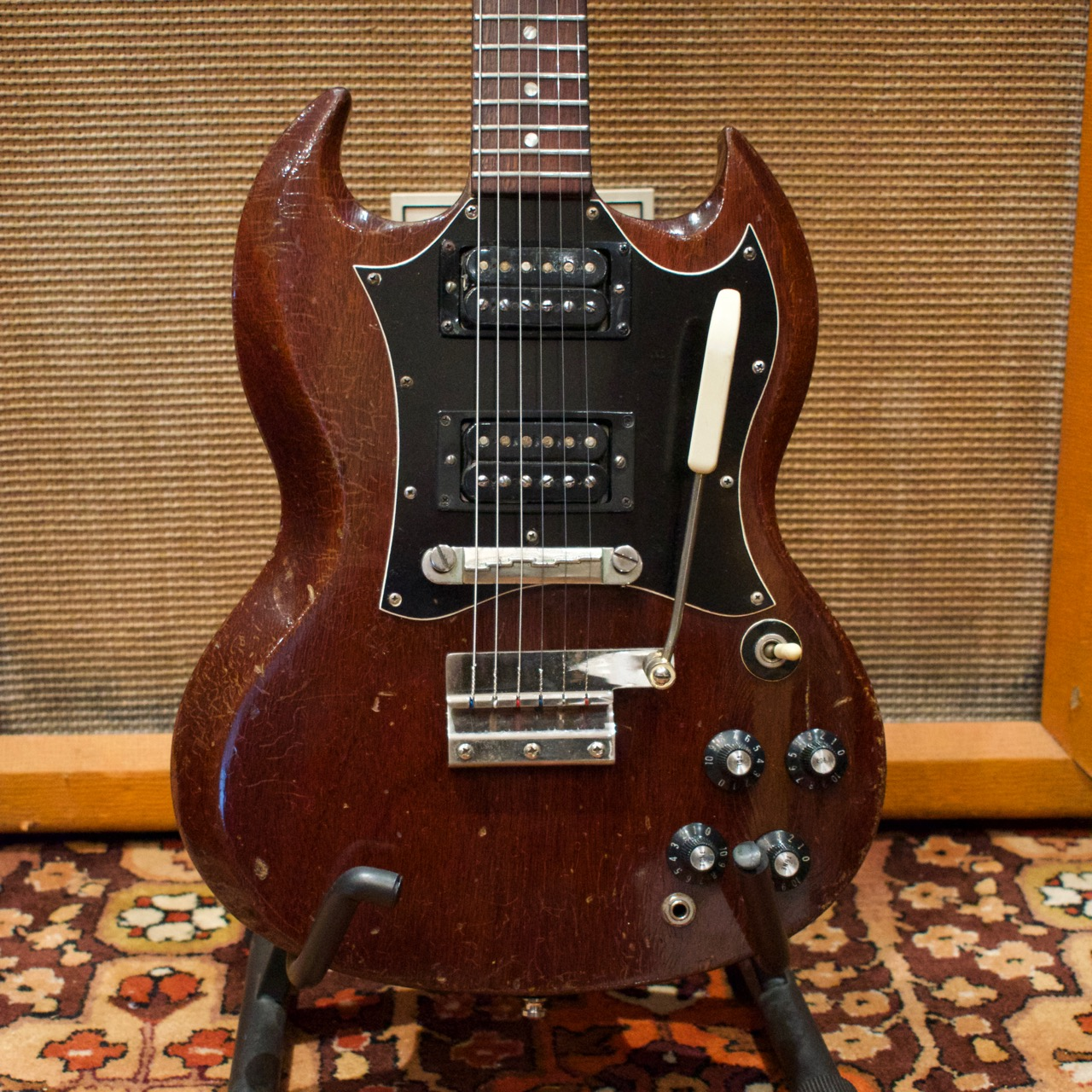 Vintage 1967 1968 Gibson SG Special Cherry Red Mahogany