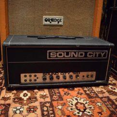 Vintage 1970s Sound City 120 Lead Mark 4 Amp
