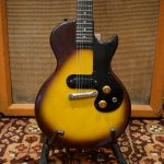 Vintage 1960 1961 Gibson USA Melody Maker Tobacco Sunburst Guitar