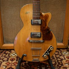 Vintage 1959 Hofner Club 50 Natural Blonde Guitar