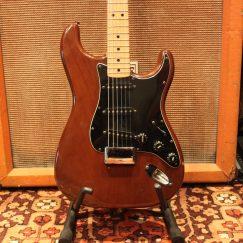 Vintage 1977 Fender Stratocaster Mocha w/ Original Hard Case
