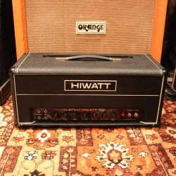 Vintage 1970 Hiwatt DR103 Custom 100w Valve Amplifier Head