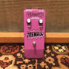 Vintage 1974 Colorsound Sola Sound Tremolo Purple UK