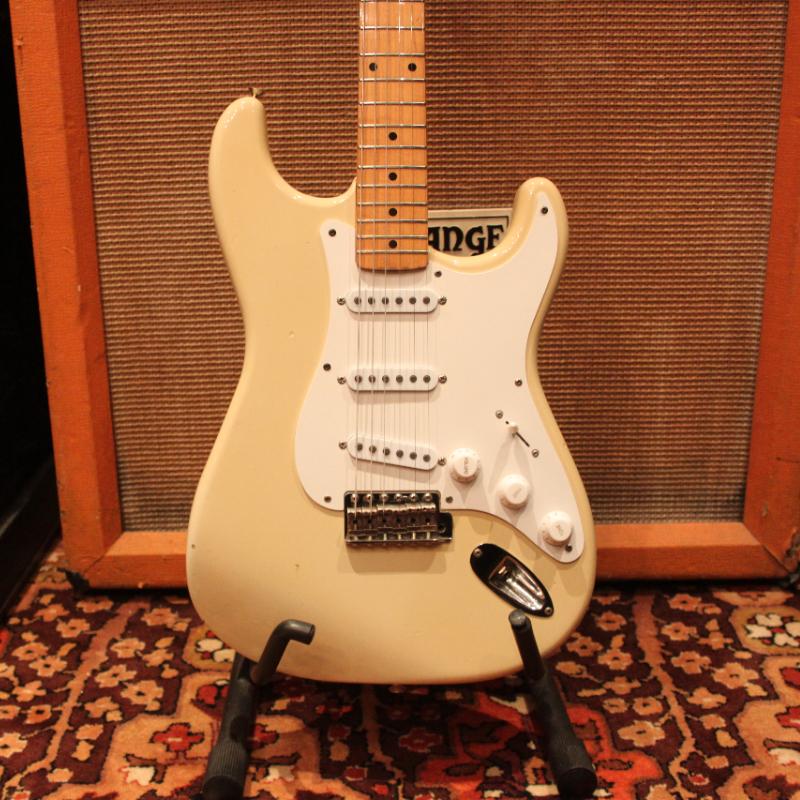 Vintage 1984 Tokai Goldstar Sound 50s Reissue Olympic White Stratocaster