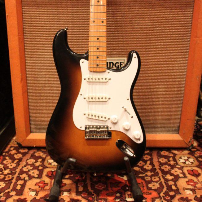 Vintage 1983 JV Fender Squier 2-Tone 57 Reissue Stratocaster