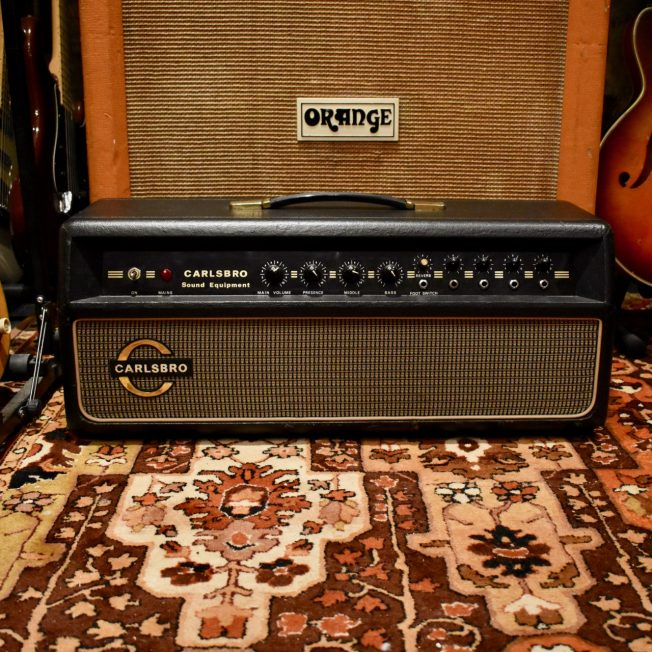 Vintage 1960s Carlsbro CS60 Reverb MK 1 PA Amplifier Head