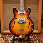 Vintage 1970s Commodore Hollow Body Electric Guitar Japan 335